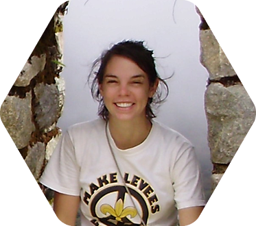 Anthropology major Mara Waldruff '10