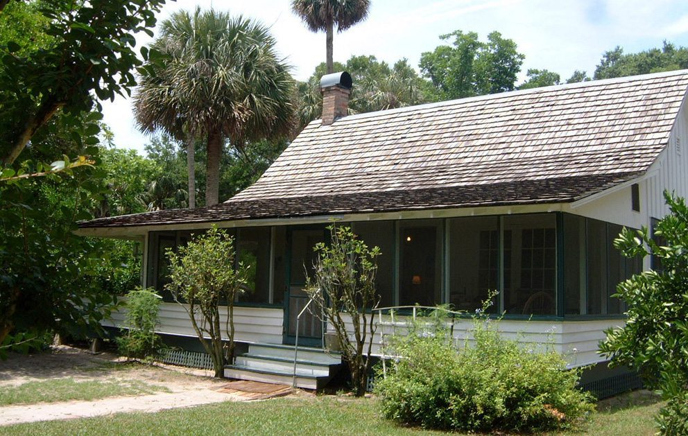 The house of Marjorie Kinnan Rawlings in Cross Creek