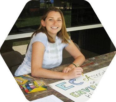 Environmental Studies major Kristina Krajcik '12
