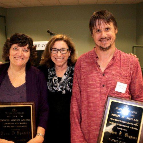 Left to right: Joan Epstein, Suzan Harrison, Stephen Weppner
