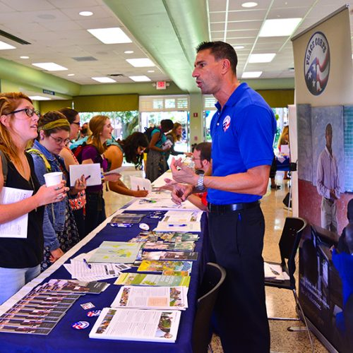Service-Learning and internship fair