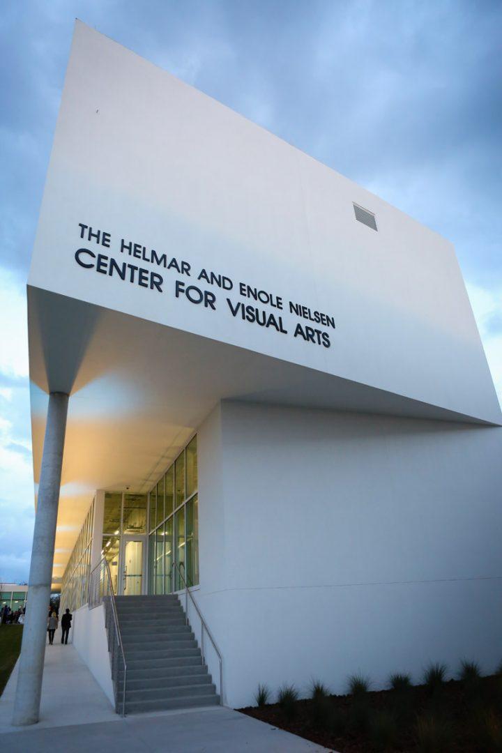 Center for Visual Arts facade