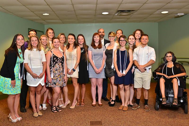 2017 Phi Beta Kappa student inductees