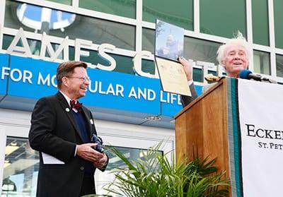Dr. Eastman at James Center