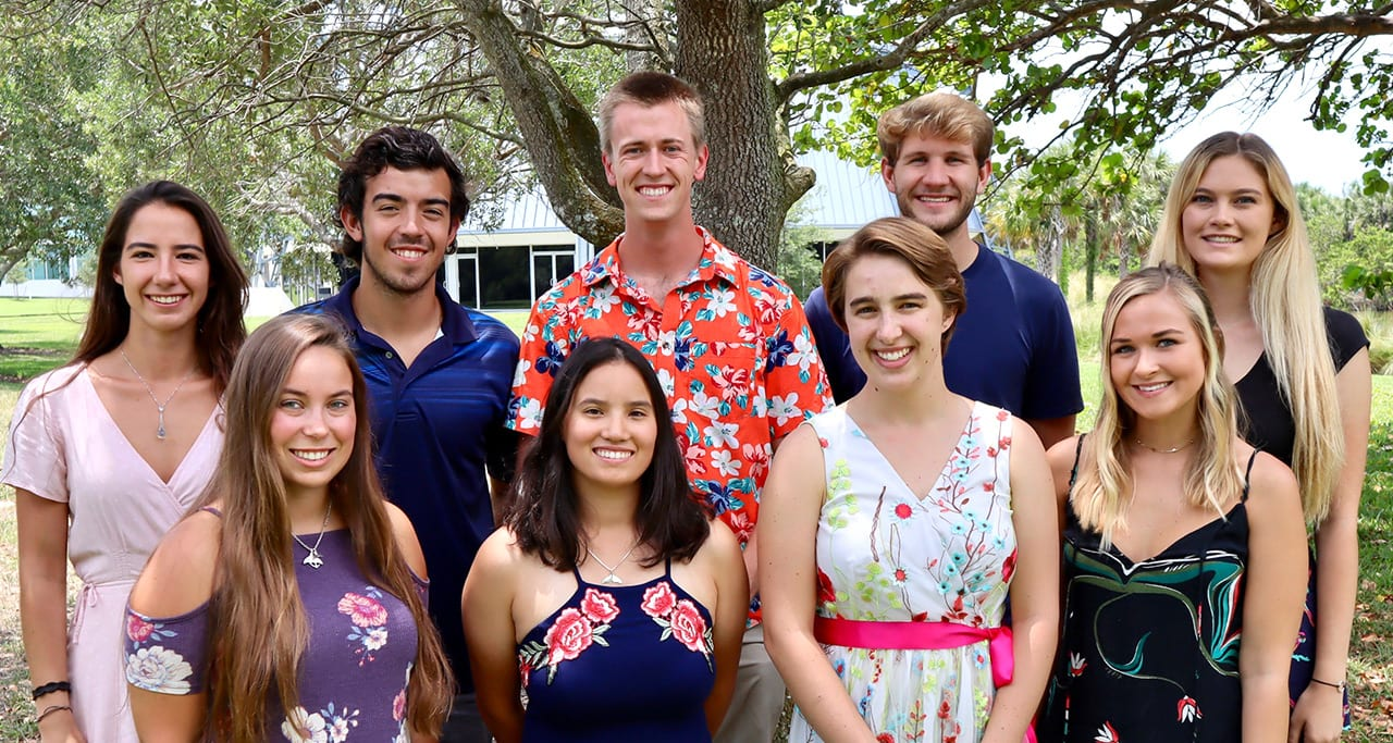 Eckerd College Hollings Scholars 2019