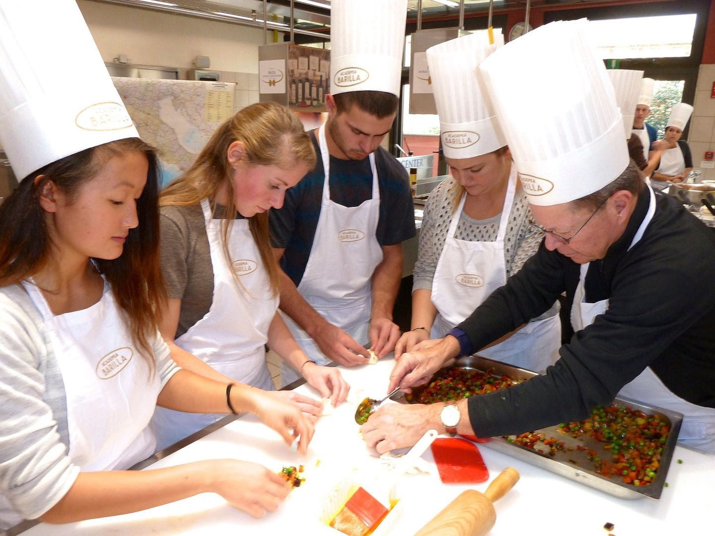 Dr. Eastman joins a trip to study culinary science in Italy