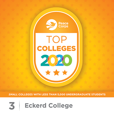 Peace Corps Top Colleges 2020 - Eckerd College #3