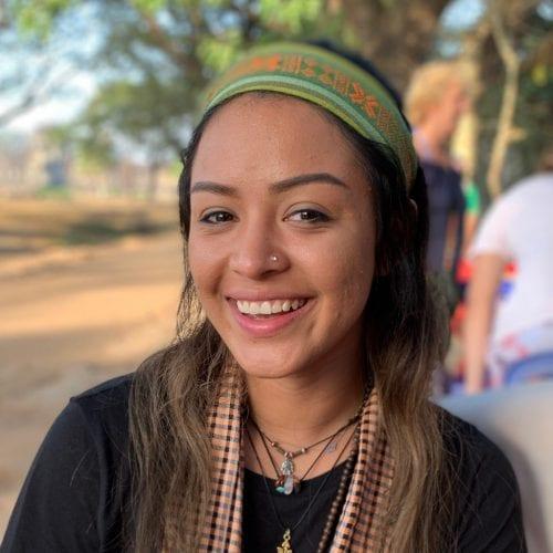 Eckerd College Peace Corps volunteer in Cambodia