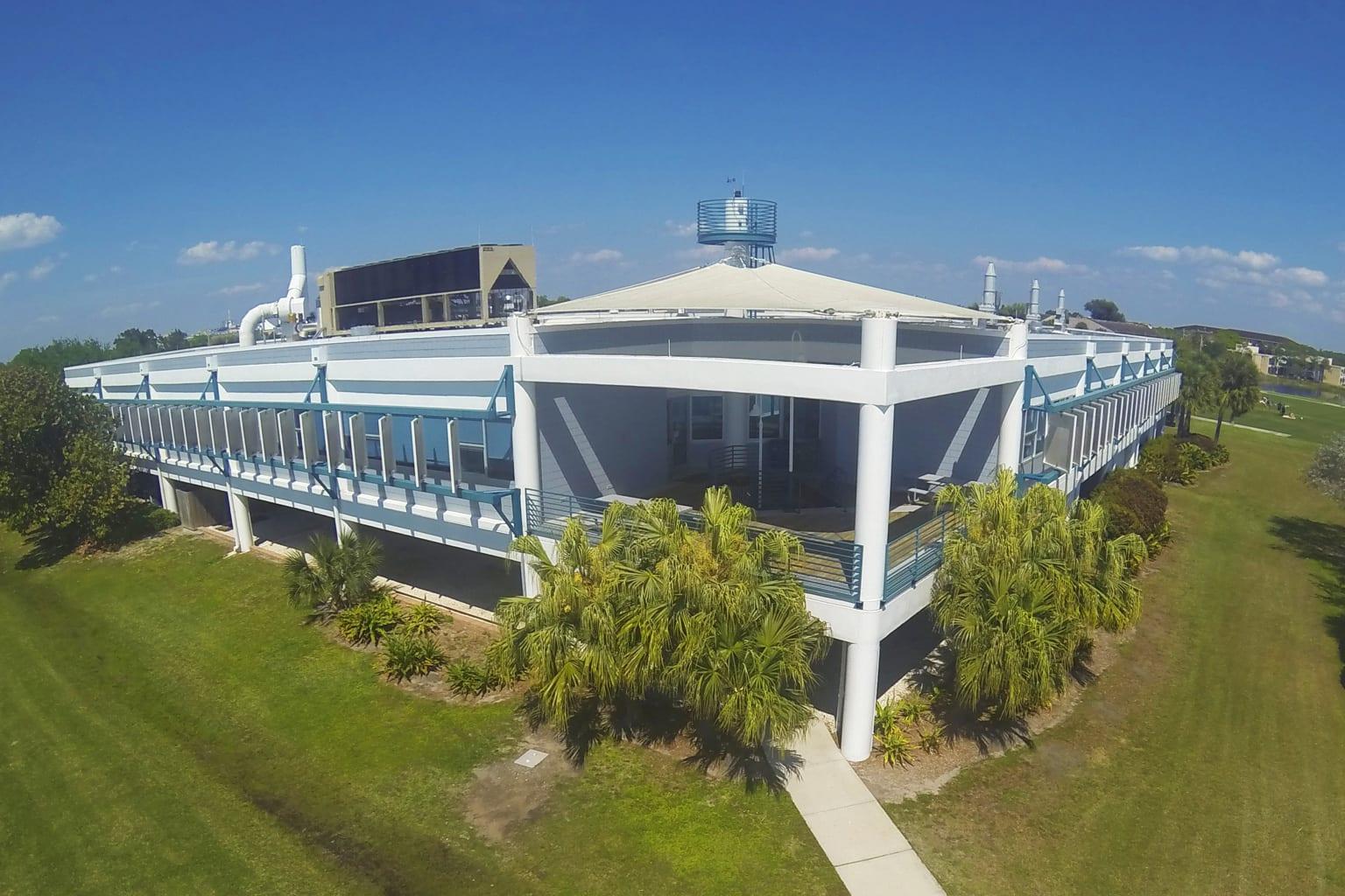 Galbraith Marine Science Laboratory aerial view
