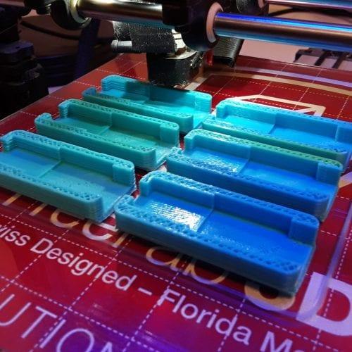 3D printer creates fastener