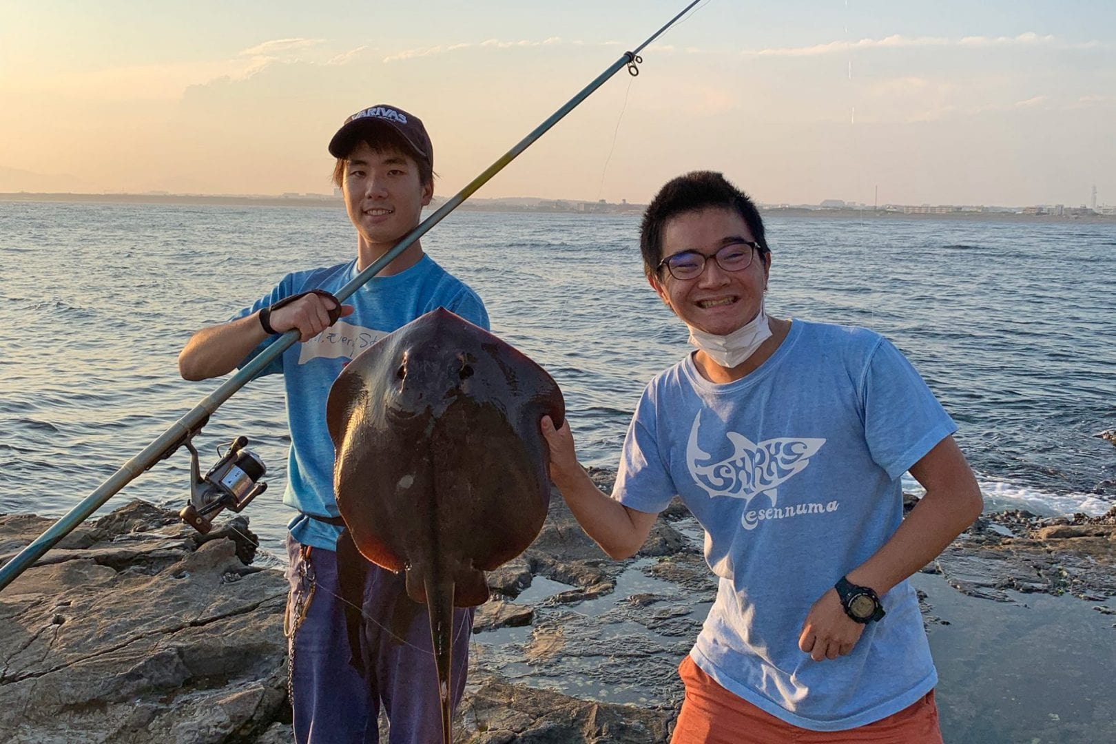 Seisho Song with deep-sea fisherman Yuma-san