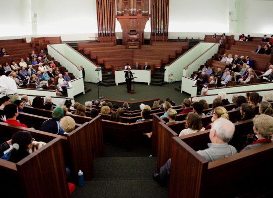 Elie Wiesel Tribute in the chapel