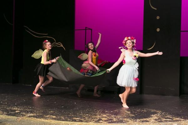 Fairies dance away