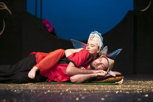 Titania and Bottom sleep