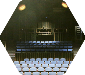 Inside of Bininger Theater