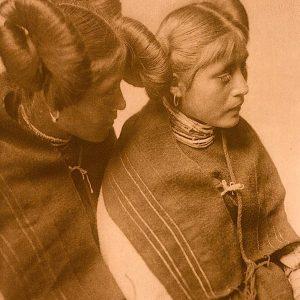 Pulini and Koyame, Walpi, 1921