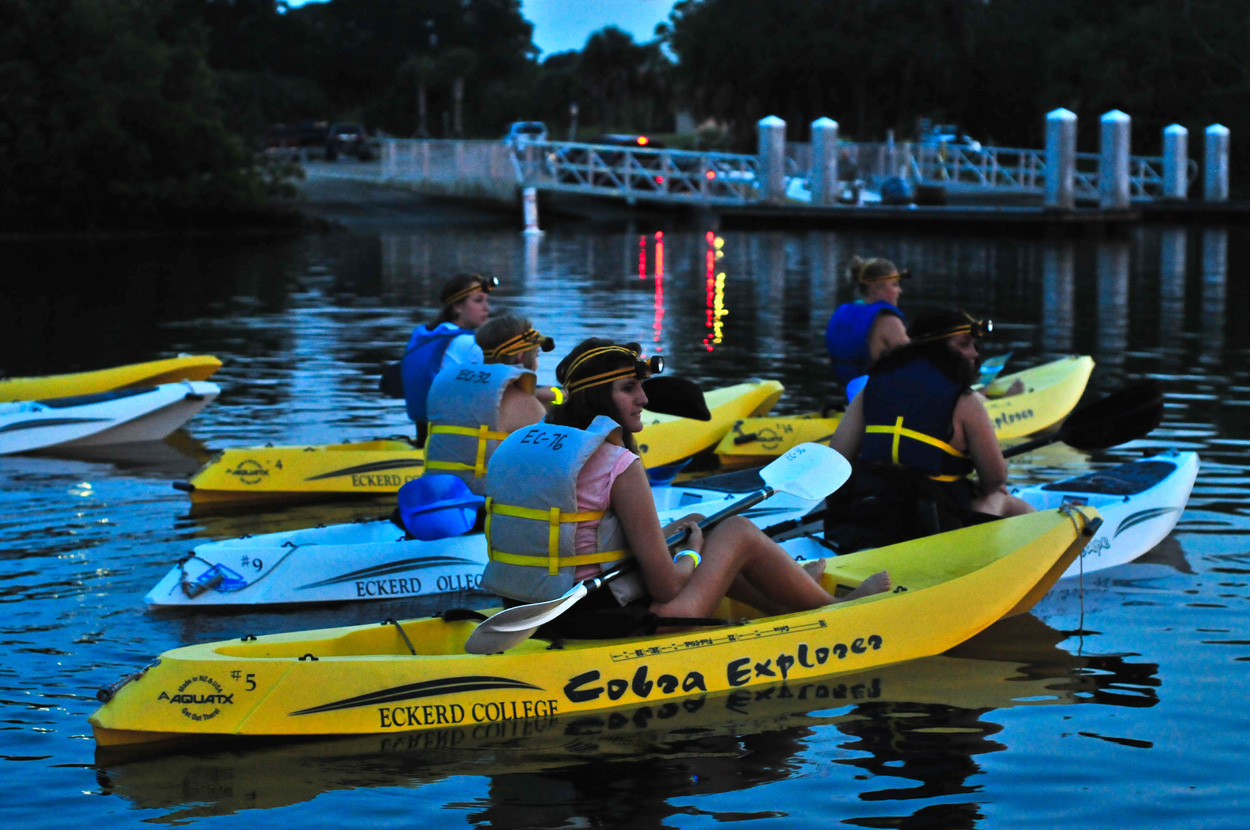Waterfront Eckerd College In Florida