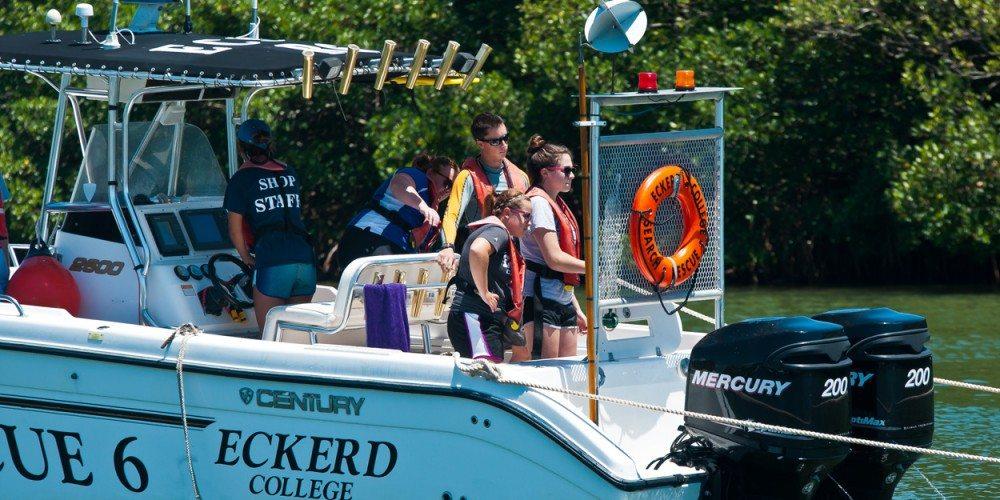 EC-SAR on Rescue boat