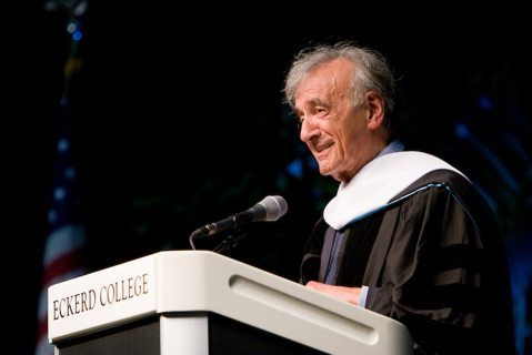 Elie Wiesel at the Eckerd College 50th Anniversary Convocation, February 2008