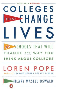 Colleges That Change Lives book by Loren Pope, revised by Hillary Oswald