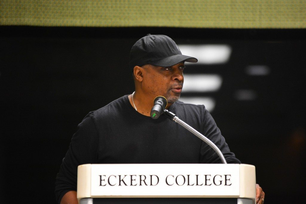 Chuck D. of the band Public Enemy, emcee, author, and producer