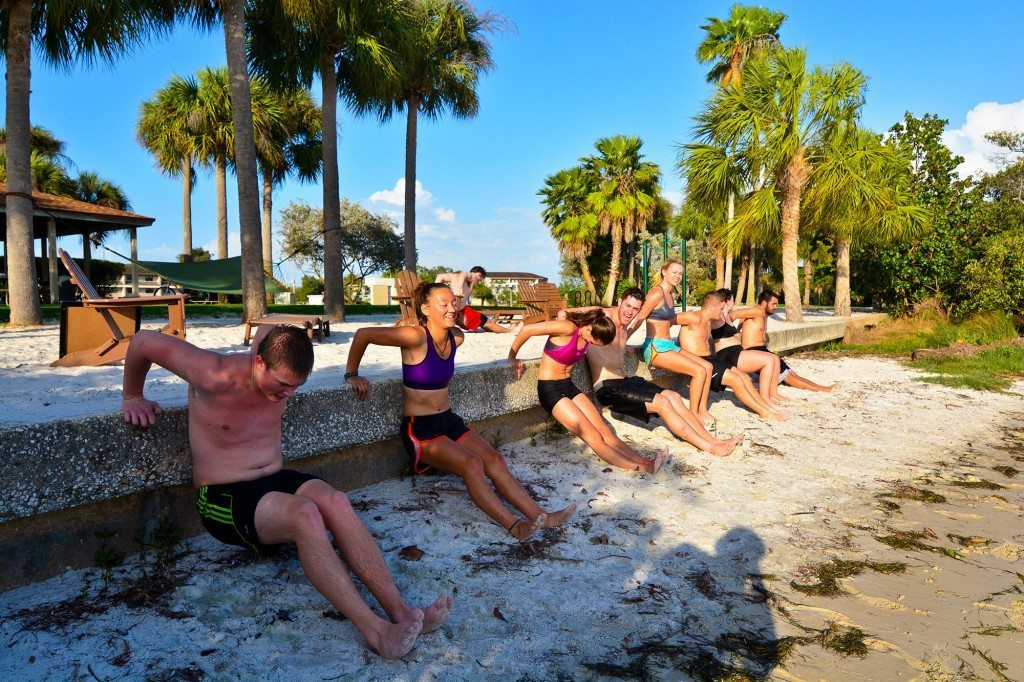 Xfit club on South Beach by Spencer Yaffe '17