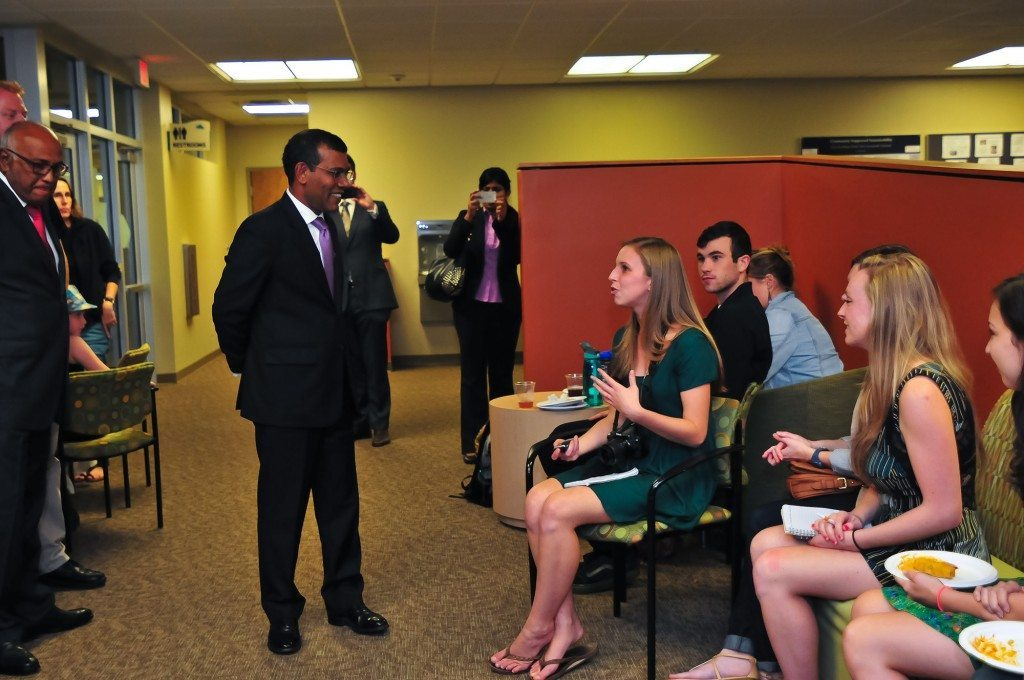 Mohamed Nasheed, environmental activitist and fourth president of the Maldives