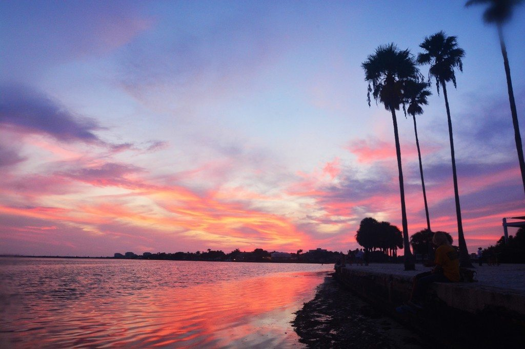 Sunset over South Beach by Spencer Yaffe '17