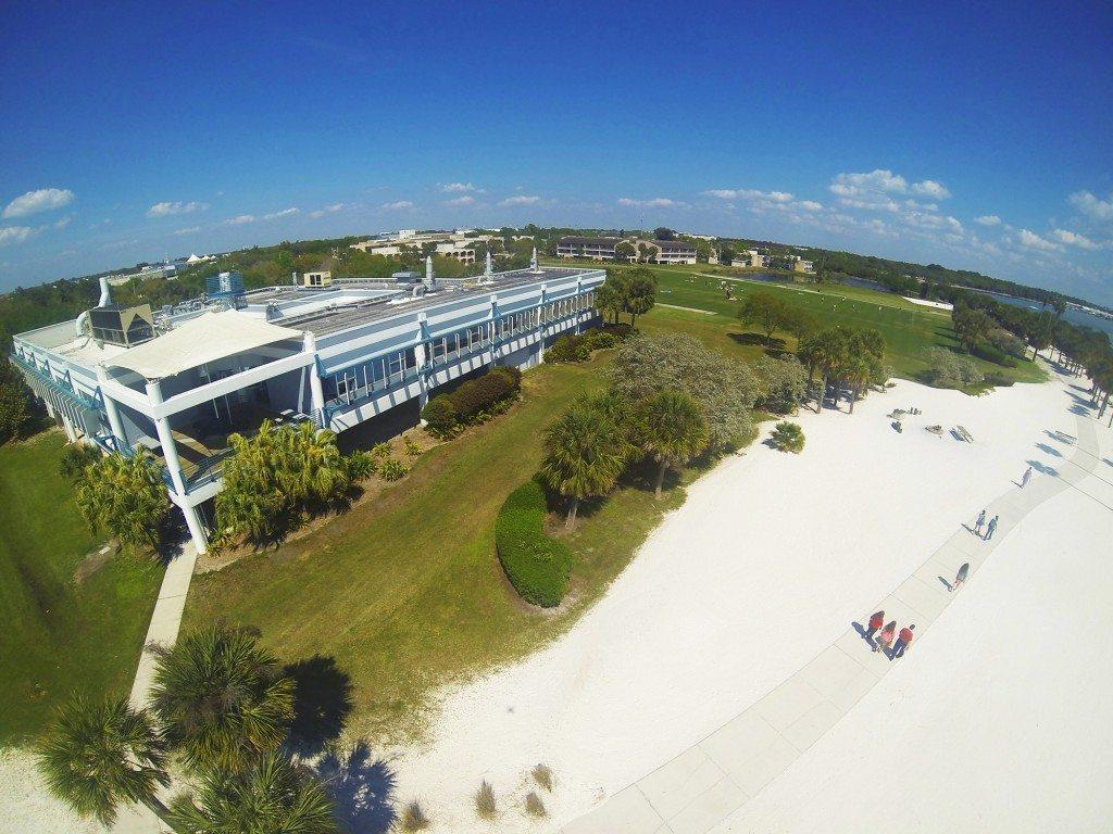 Galbraith Marine Science Laboratory on South Beach