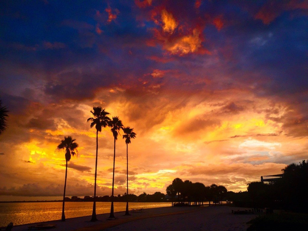 Sunset over South Beach by Sean Laughlin '16