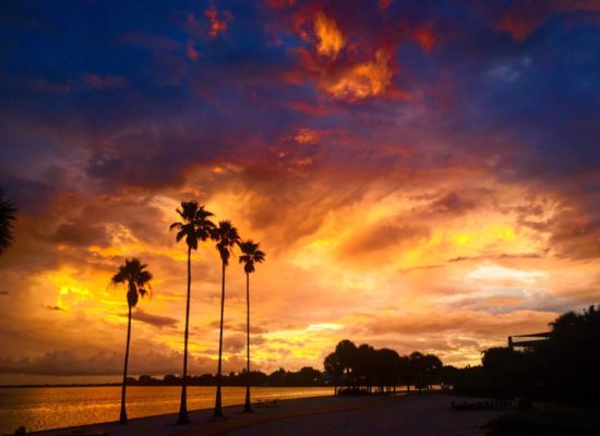 Sunset over South Beach by Sean Laughlin '17