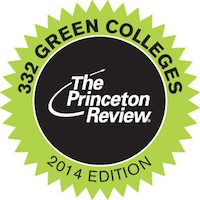Princeton Review Green College 2014