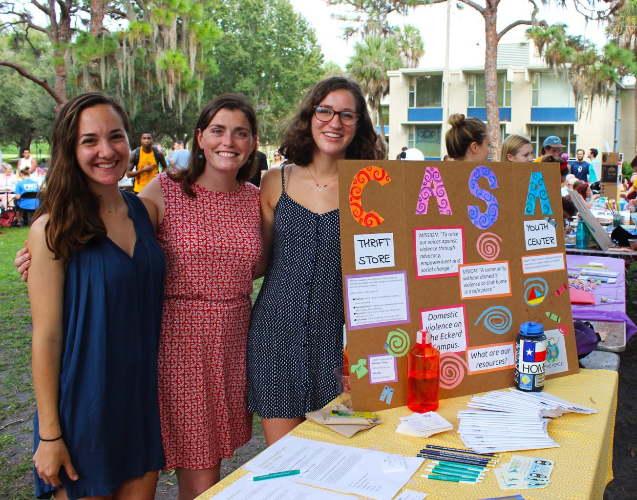 Senior capstone project for CASA non-profit