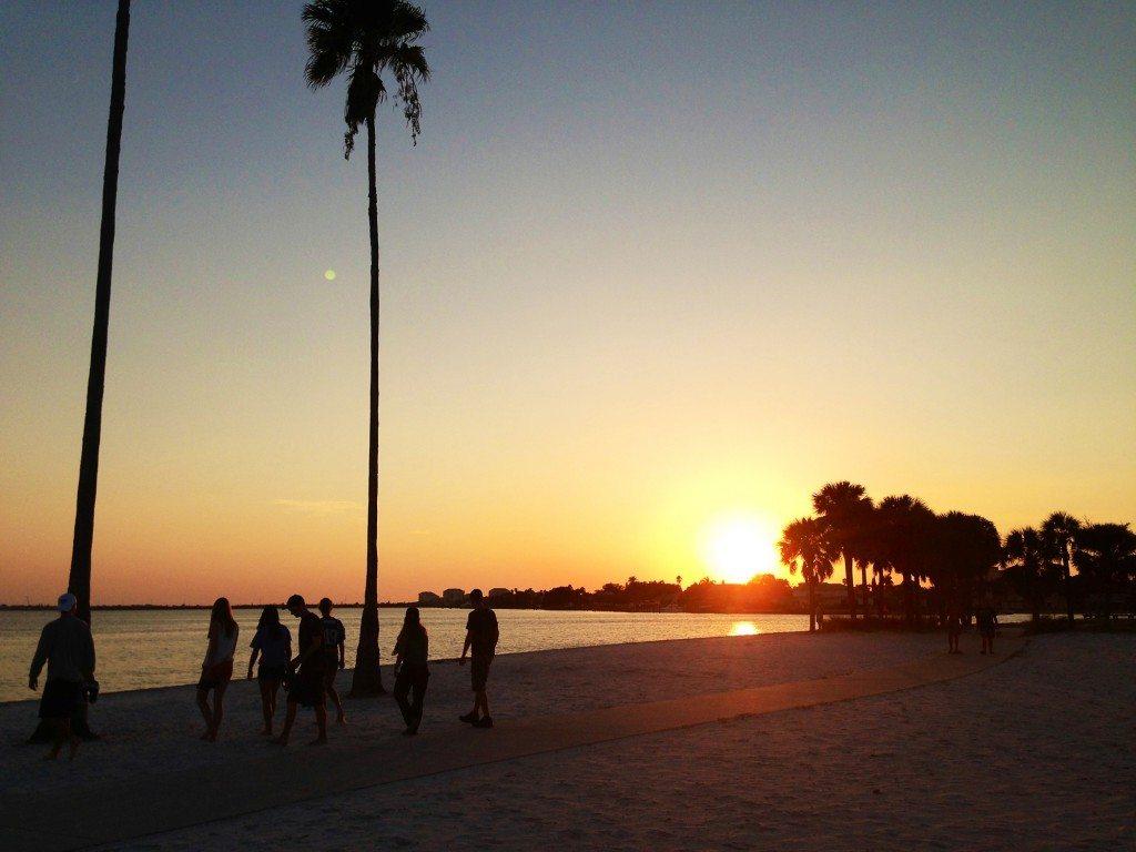 Sunset over South Beach by Jason Baer '17