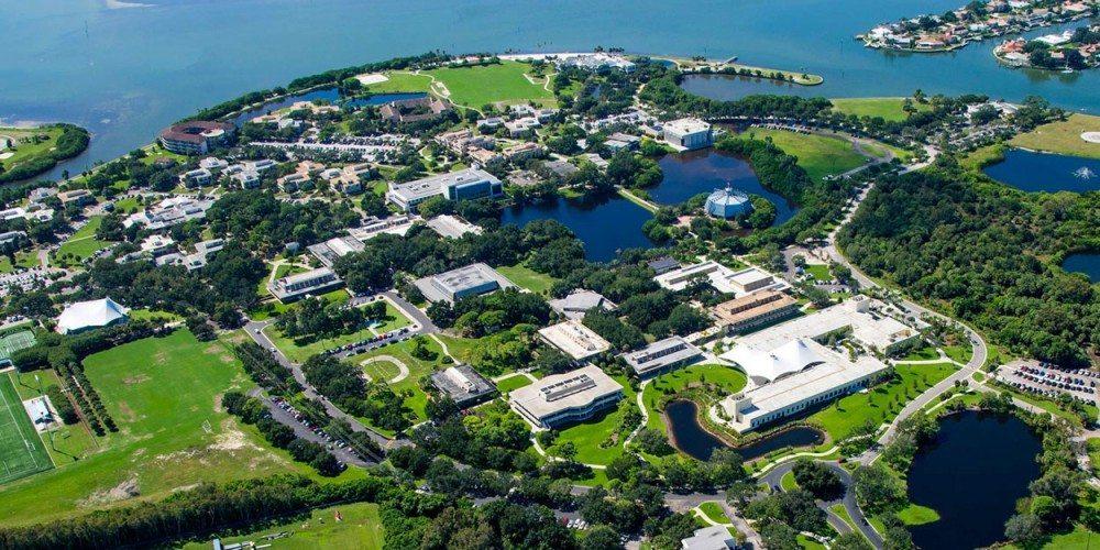 Aerial of the Eckerd campus