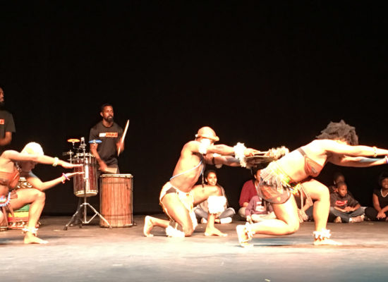Step Afrika dance and drum