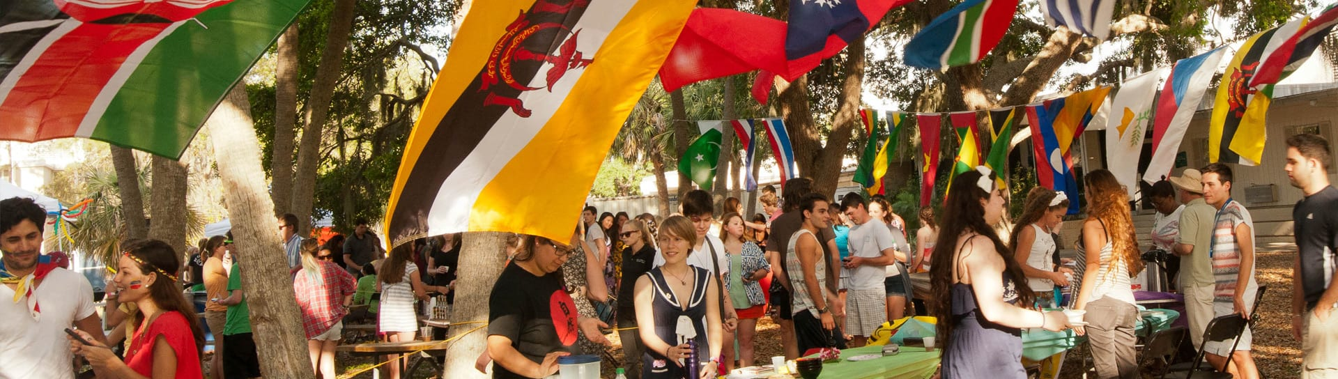 International students at Festival of Cultures