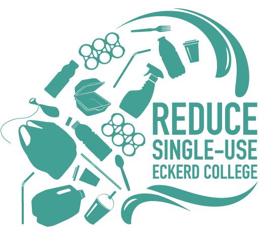 Logo showing single-use plastics
