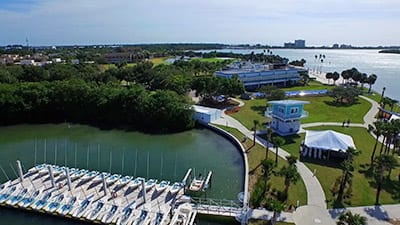 Doyle Sailing Center at Eckerd College