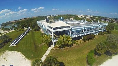 Galbraith Marine Science Laboratory at Eckerd College